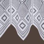 Zazdrostka gipiurowa biała żakardowa dół