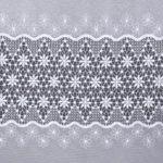 firana haftowana na markizecie wzór gipiurowy